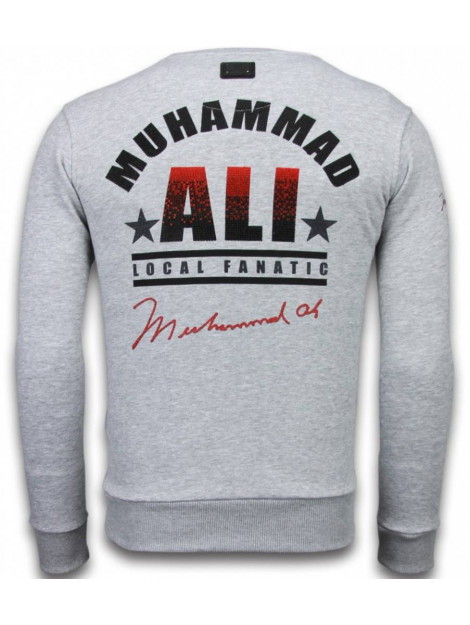 Local Fanatic Muhammad ali rhinestone sweater 6176G large
