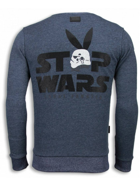 Local Fanatic Stormbitch rhinestone sweater 5911B large