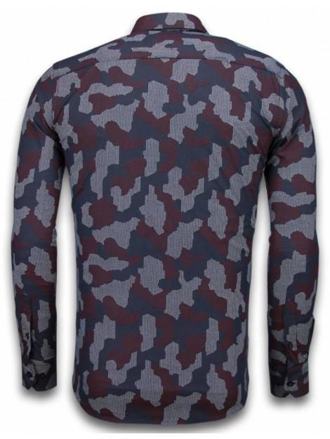 Tony Backer E overhemden slim fit 2040 large