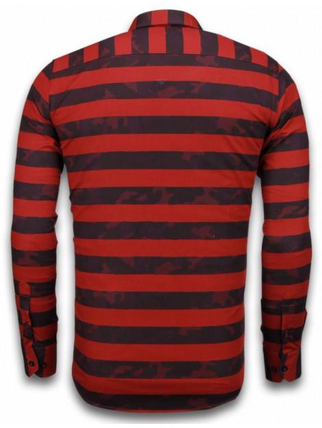 Tony Backer E overhemden slim fit 2036 large