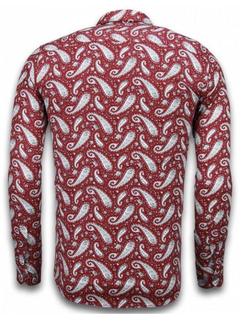 Tony Backer E overhemden slim fit 2026 large