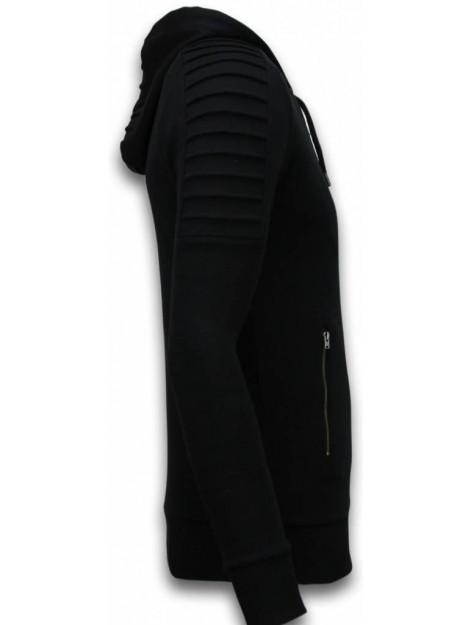 Tony Backer Ribbed vest long fit biker trend 007Z large