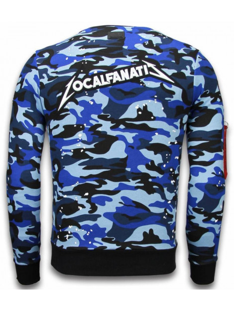 Local Fanatic Camo embroidery sweater patches LF-100B large