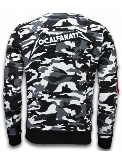 Local Fanatic Camo embroidery sweater patches LF-100Z large