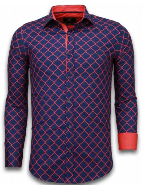 Tony Backer E overhemden slim fit 2013B large