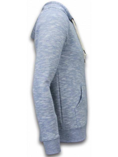Enos Casual vest melange zen fleece FF-505B large