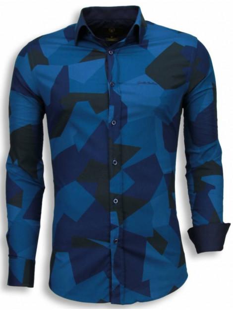 Tony Backer E overhemden slim fit 1001B large