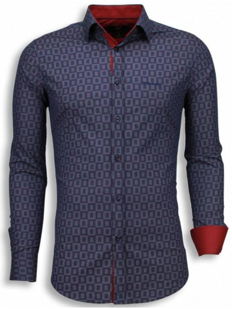 Tony Backer E overhemden slim fit 1002P large