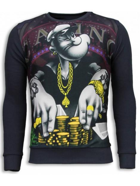 Local Fanatic Casino popeye sweater 5794G large