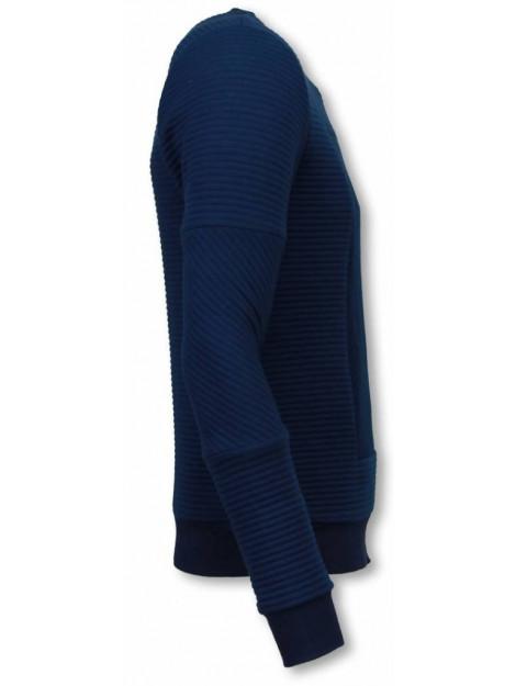 BN8 BLACK NUMBER 3d ribbel square crewneck sweater BX5229B large