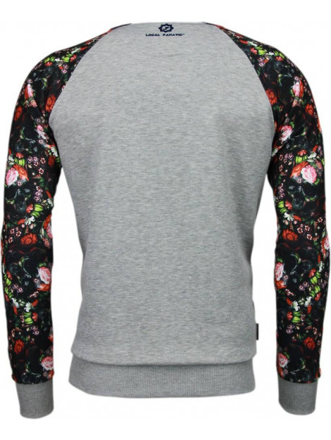 Local Fanatic Skull arm motief sweater 5104G large