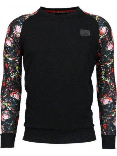 Local Fanatic Skull arm motief sweater 5104Z large