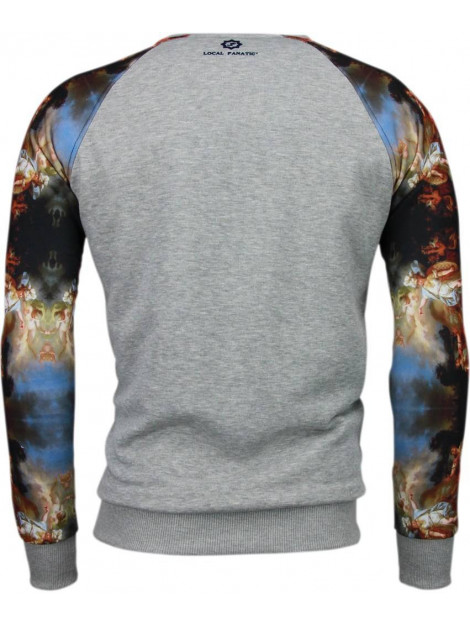 Local Fanatic Mythologie arm motief sweater 5102G large