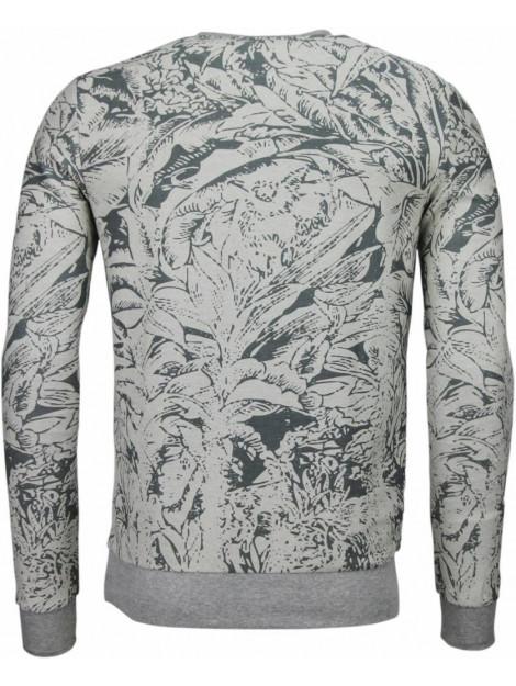 BN8 BLACK NUMBER Park&cash sweater JX537GR large