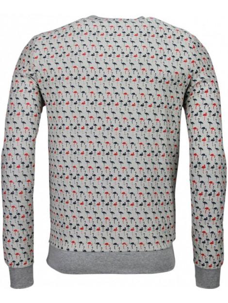 BN8 BLACK NUMBER Flamingo sweater JX531LB large