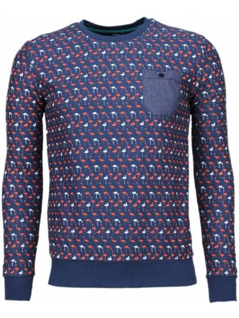 BN8 BLACK NUMBER Flamingo sweater JX531DB large