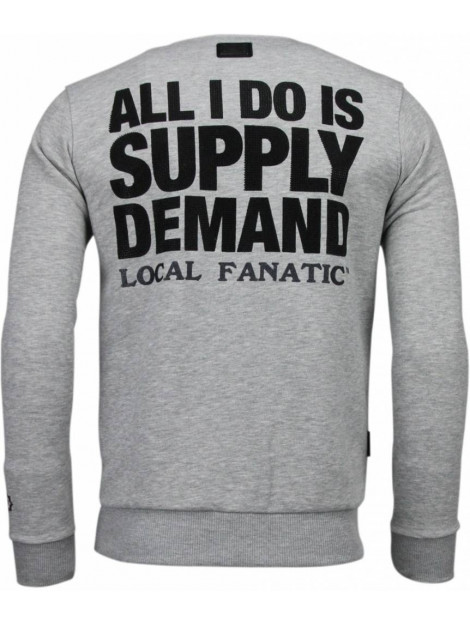 Local Fanatic Al capone rhinestone sweater 4875G large