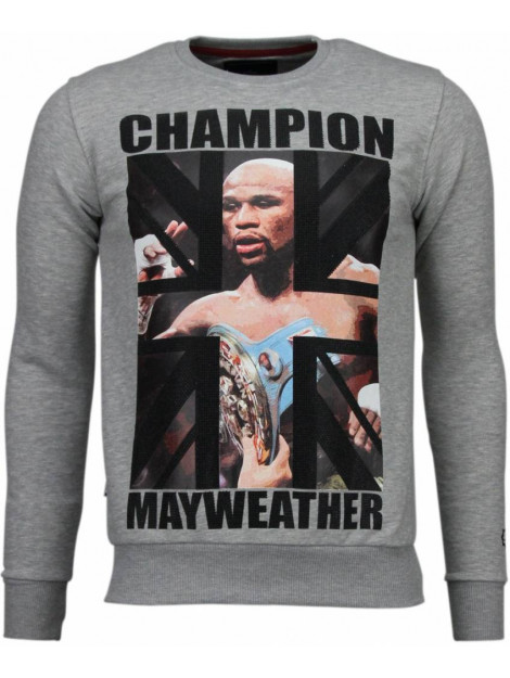 Local Fanatic Mayweather rhinestone sweater 4904G large