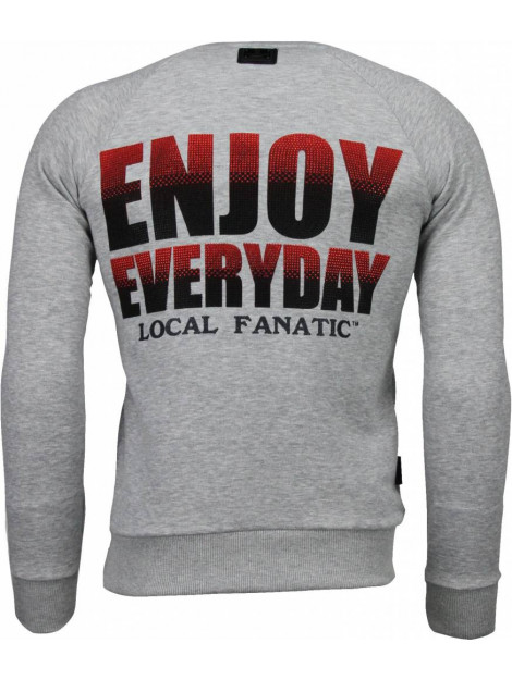 Local Fanatic Bilzarian rhinestone sweater 4787G large