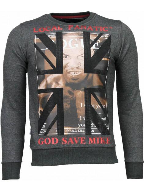 Local Fanatic Mike tyson rhinestone sweater 4786Z large