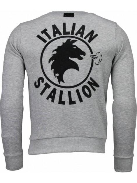 Local Fanatic Rocky balboa rhinestone sweater 4785G large