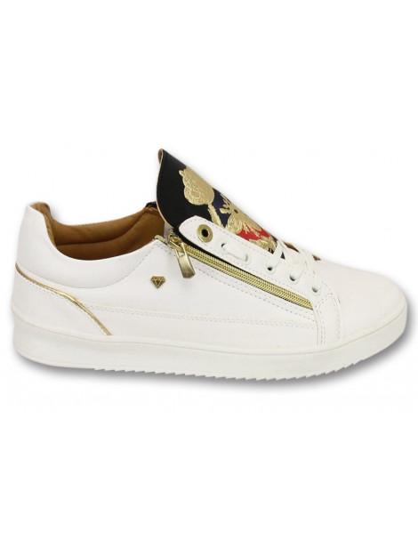Cash Money Sneakers prince white black CMS97 large