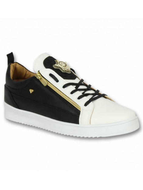 Cash Money Schoenen sneaker bee black white gold CMS97 large