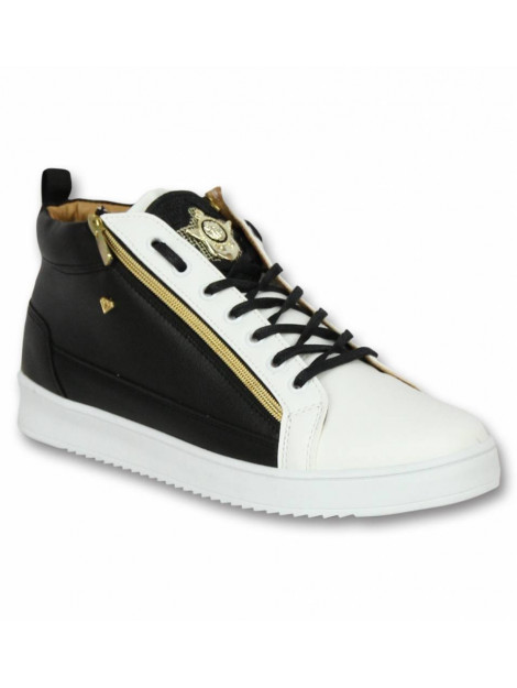 Cash Money Schoenen sneaker bee black white gold CMS98 large