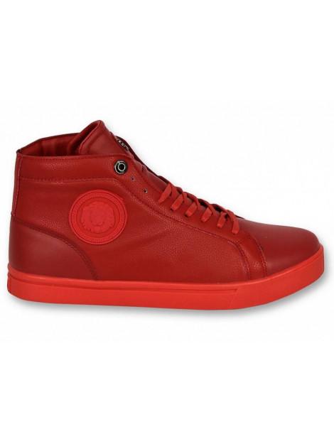 Cash Money Schoenen sneaker lion red silver CMS86 large
