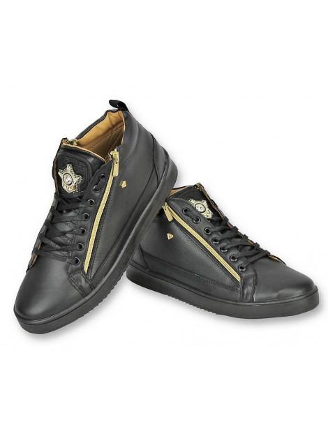 Cash Money Schoenen sneaker bee black gold CMS98 large