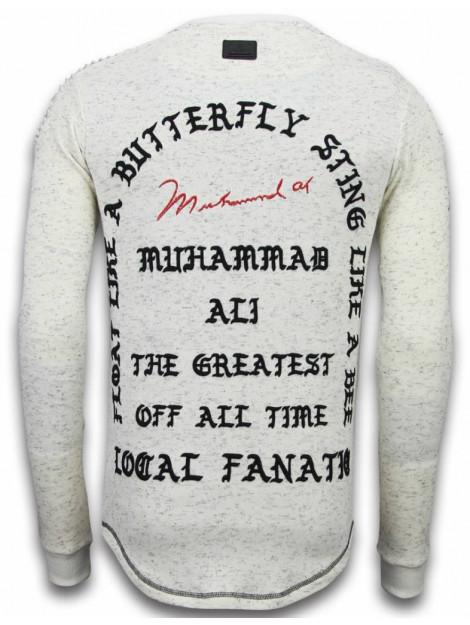 Local Fanatic Longfit sweater i feel like muhammad LF-105/2 large