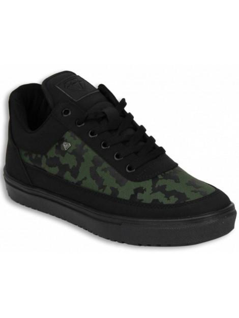 Cash Money Schoenen sneaker low camouflage side CMS11-GZ large