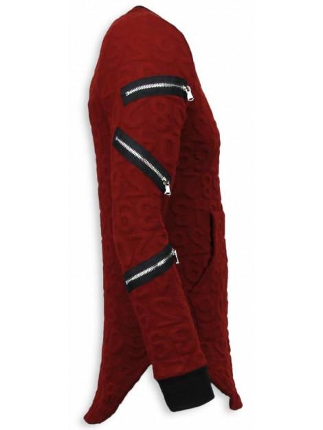 Justing 3d numbered pocket long fit T-7633R large