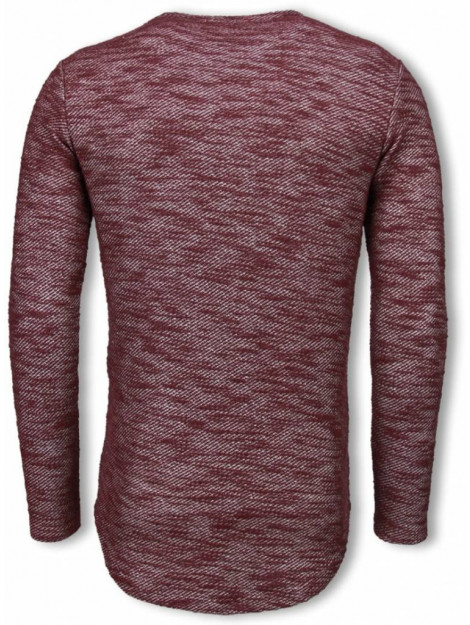 © MAN Gemeleerde shirt long fit sweater 6288B large