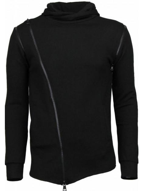 Daniele Volpe Casual hoodie long style zipper FF-592Z large