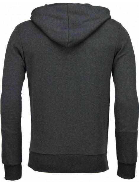 Enos Casual vest long slant zipper FF-545G large