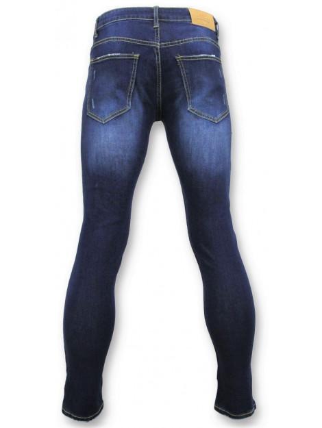 True Rise Strakke jeans biker jeans 5029 large