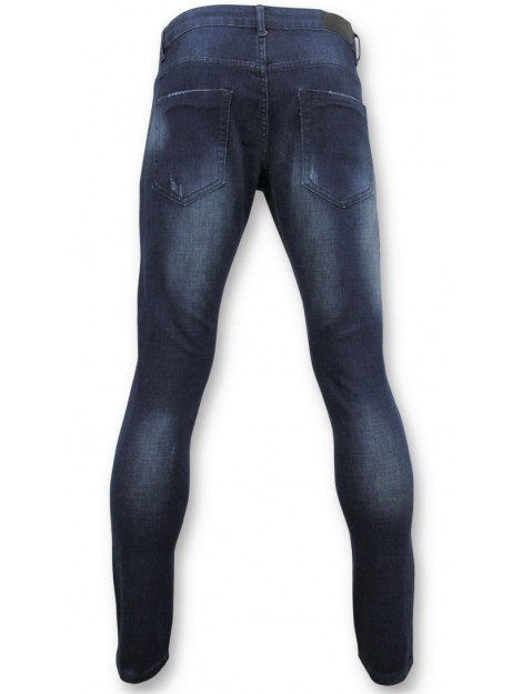 True Rise Basic jeans man spijkerbroek washed D-3017 large
