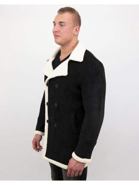 Tony Backer Imitatie bontjas parka lammy coat QQ538-4 large