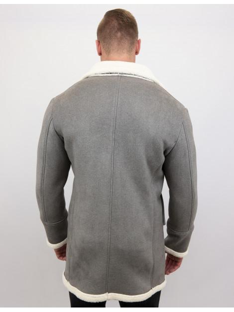 Tony Backer Imitatie bontjas lang lammy coat QQ538-4 large