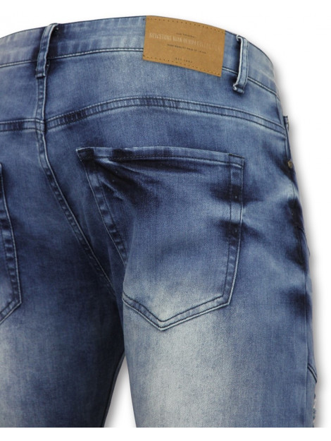 True Rise Skinny biker jeans jeans ZS 1058 large