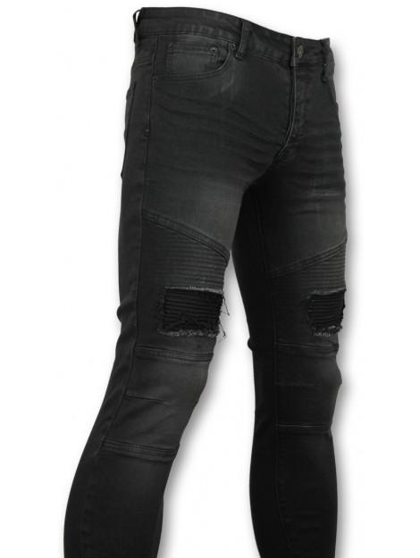 True Rise Slim fit jeans biker jeans voor 3013 large