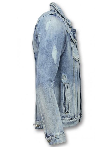 Enos Spijkerjack spijkerjas J-929 large