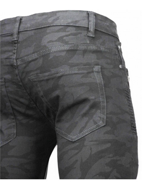 True Rise Ripped jeans slim fit biker jeans camouflage ZS712-21Z large