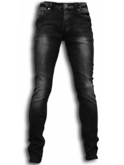 True Rise Jeans slim fit washed look jeans Y050G large