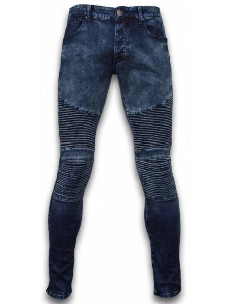 True Rise Ripped jeans slim fit biker jeans ZS668-15B large