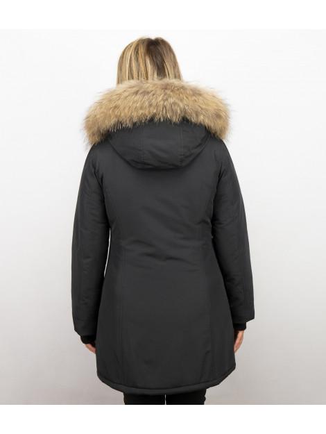 Tony Backer Bontjassen winterjas wooly lang LB280PM large