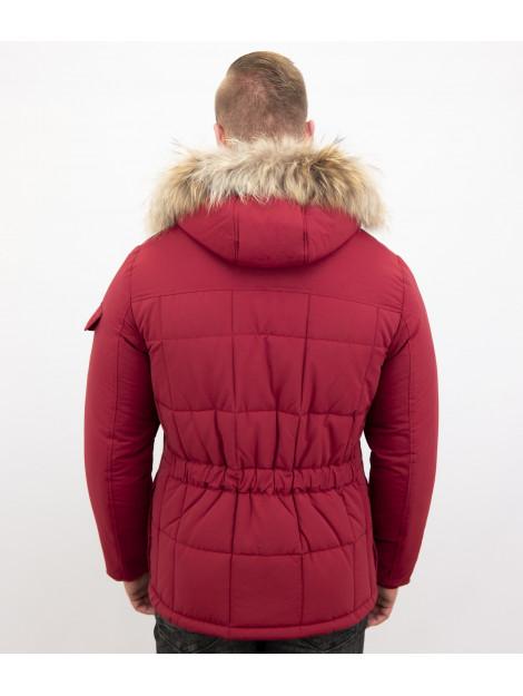 Beluomo Bontjassen winterjas lang 5192R large