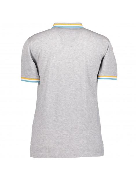 State of Art Poloshirt met streep en details 46119251 large