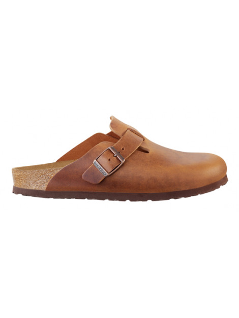 Birkenstock Boston brown leather small 760893 large